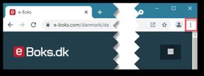 Tilføj genvej til hjemmeside fra Google Chrome
